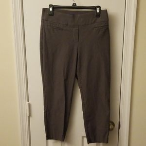 Gray Capri pants
